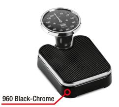 960 Black Chrome